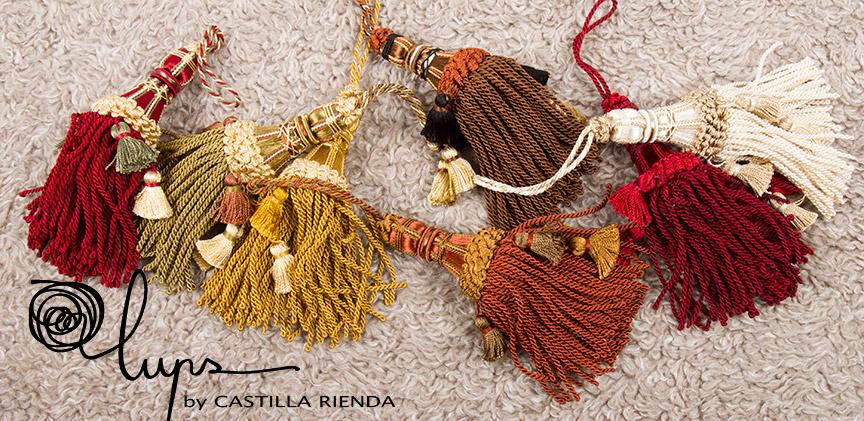 Borlas de colores de Lups by Castilla Rienda